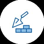 Icône - Faire construire - Crédit Immobilier BG Finance