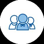 Icone - Création ou reprise d'une activité - Financement d'entreprise BG Finance